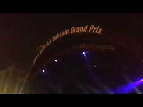 Afrojack live in Bahrain at the Formula 1 Circuit 2014