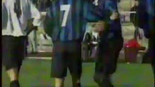 Ronaldo very rare goal with Inter in his first season in Italy