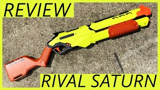 Nerf Rival Saturn Review and Firing Demo