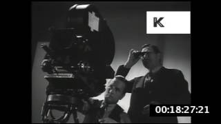 1930s USA, Hollywood Studio Filming, Behind The Scenes Movie Making