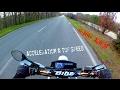 || Acceleration & Vitesse max || HONDA XR 125 L