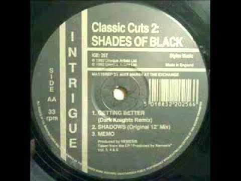 Shades Of Black - Classic Cuts 2 - Shadows   1992