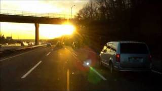 Brooklyn NY, Verrazano Bridge Westbound, NJTurnpike South. El, Grupo Yndio.12/30/2011 HD