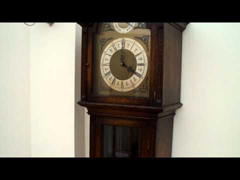 Peerless Embee Triple Chime Longcase Grandfather Clock