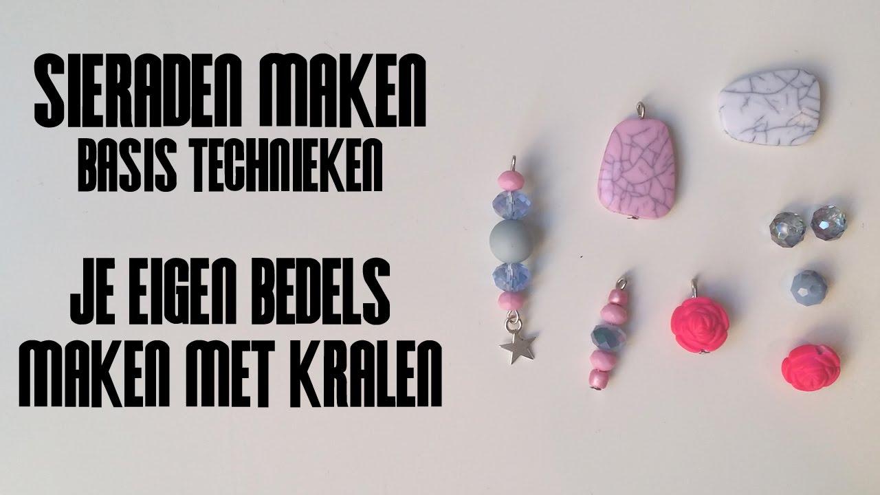Geliefde Zelf Bedels Maken met Kralen - Sieraden Maken Basistechnieke - YouTube &GH88