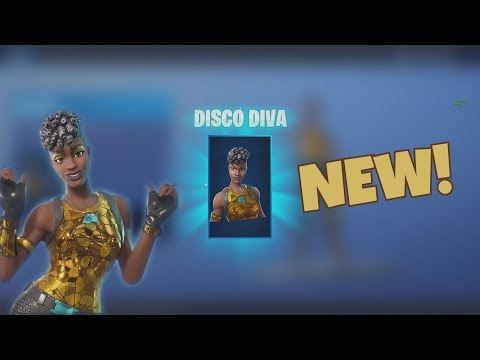 Fortnite *NEW* Disco Diva Skin Gameplay! (Sparkle Specialist 2.0?)