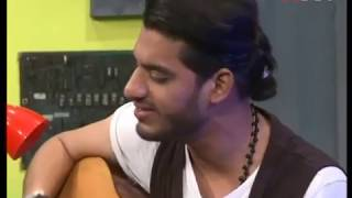 Safeer Jaffery singing 'Kun Faya Kun' on Ek Dum Live   HTV