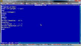 Синтаксис и структура Паскаль. Основы программирования. Паскаль. Урок №3.