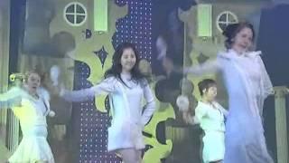 SNSD-Kissing u (소녀시대-키싱유) @SBS Inkigayo 인기가요 20080203