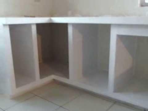 Creaci n de un mes n de cemento casa oscarcillo part 1 doovi for Como hacer una cocina integral paso a paso
