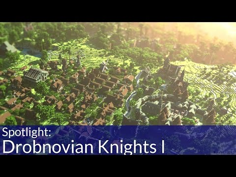Drobnovian Knights I Minecraft Adventure Map