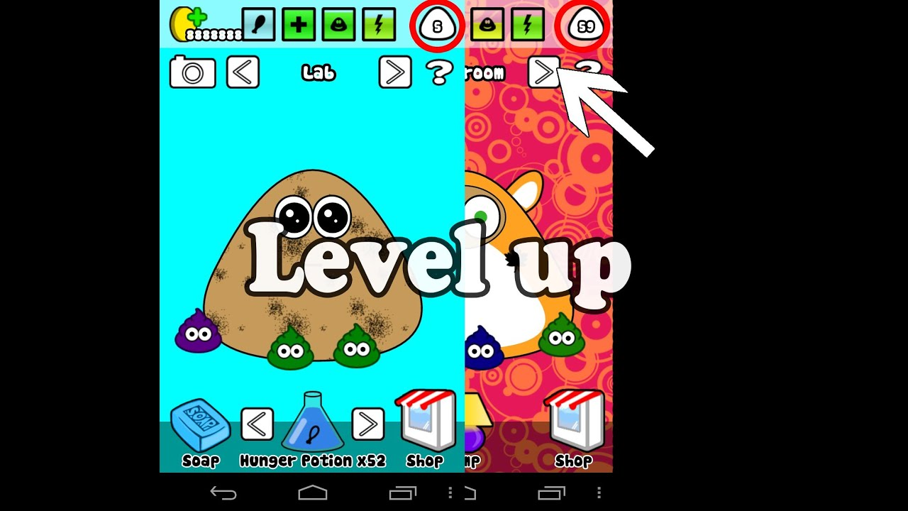 How to level up your pou  YouTube