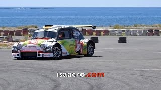 José María Ponce con Seat 600. Test 41 Rally Islas Canarias 2017. By isaacro.com