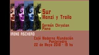 Irene Aschero canta el tango Sur - Café Moderno Afundación Pontevedra - Galicia - España