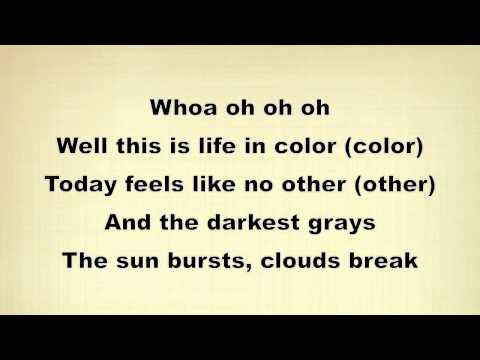 OneRepublic Life In Color (Lyrics)