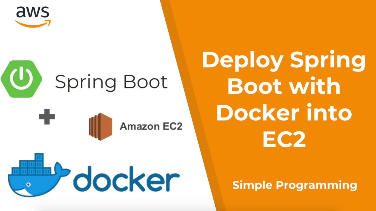 Amazon Web Services | Deploy Spring Boot with Docker into AWS EC2 | Example  | Simple Programming