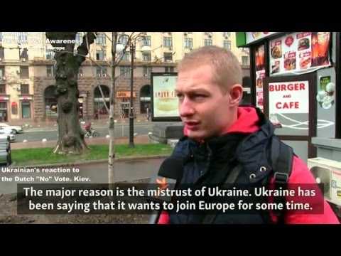 04/06 Dutch Referendum votes NO on Ukraine + Ukrainian's Reactions!