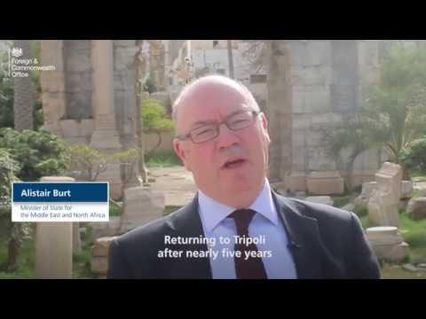 Minister Burt visits Tripoli, Libya - April 2018