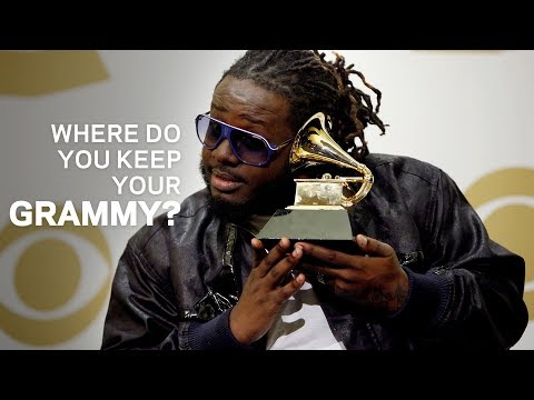 Where Do You Keep Your GRAMMY  T-Pain