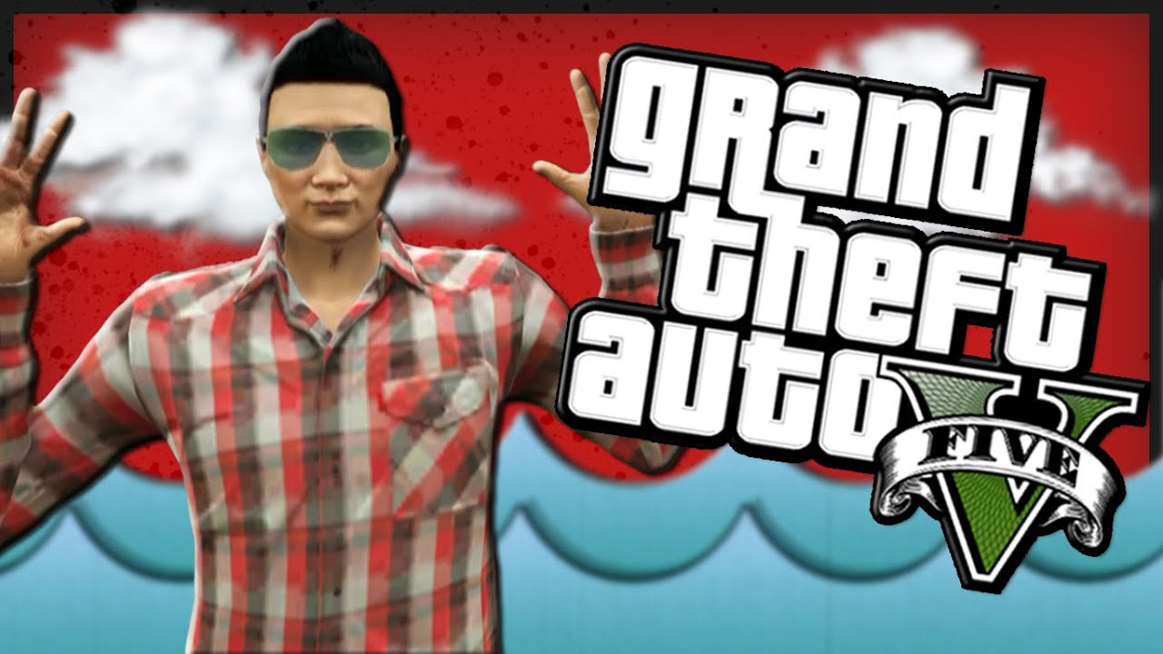 Gta 5 funny moments skying stranded in the ocean god super