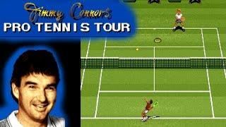 Jimmy Connors Pro Tennis Tour ... (SNES) 60fps