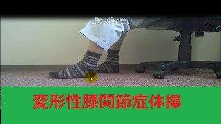 NHKためしてガッテン(H26 6 18)②変形性膝関節症の痛みを緩和する体操 ...