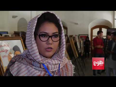 Kabul Exhibition Displays Female Artists' Paintings