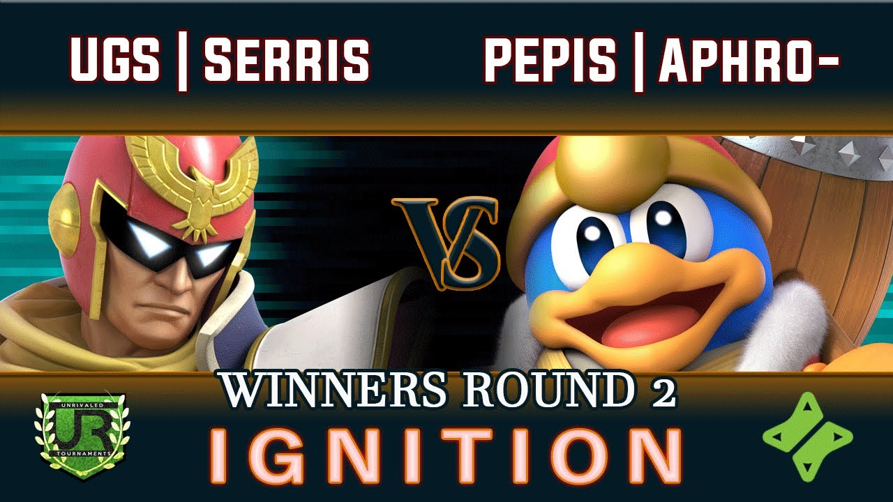 Download Ignition #217 WINNERS ROUND 2 - UGS | Serris (Captain Falcon) vs PEPIS | AphroTreesiac (King Dedede)