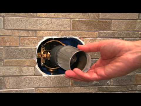 GROHE GrohFlex Installation Video YouTube