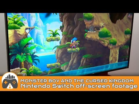 [Monster Boy and the Cursed Kingdom] Nintendo Switch off-screen footage thumbnail