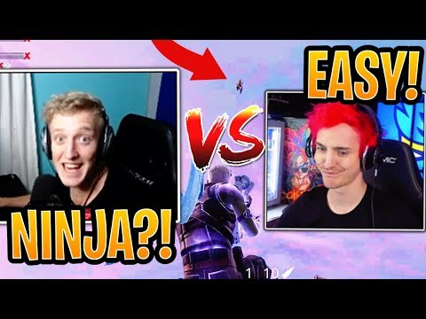 Tfue vs Ninja 1v1 in a Public Match! (BOTH POV) - Fortnite Best and Funny Moments thumbnail