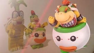 LEGO Bowser Jr and Iggy Koopa! (Super Smash Bros. for 3DS)