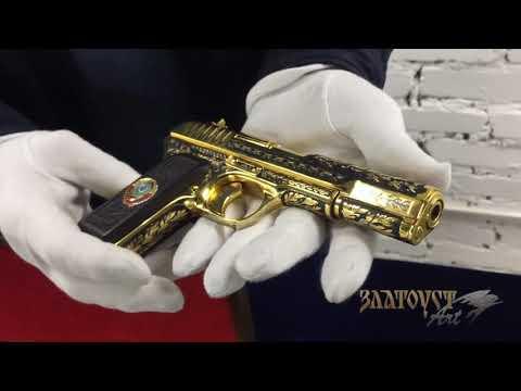 Золотой ТТ. Выстрел из золотого пистолета ТТ