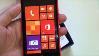 Nokia Lumia 625 - Unboxing and first impressions