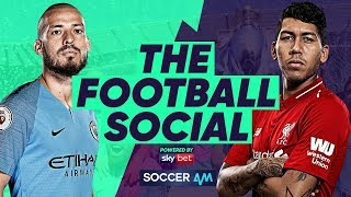 LIVE - Manchester City 2-1 Liverpool | Sane Winner Closes Gap To Four Points #TheFootballSocial