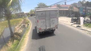 How not to Drive Bali Traffic KLX150