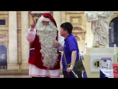 Finnish man as Santa Clause -Travel Revolution