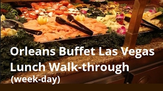 Video The Orleans Buffet in Vegas (Cheap Vegas Buffets): Lunch Walk-Through download MP3, 3GP, MP4, WEBM, AVI, FLV Desember 2017