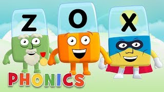 Phonics - Learn to Read   Something Strange!   Made Up Words   Alphablocks thumbnail