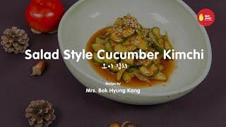 Kimjang Project: Salad Style Cucumber Kimchi