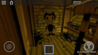ROBLOX bendy and the ink machine chapter 1 and 2