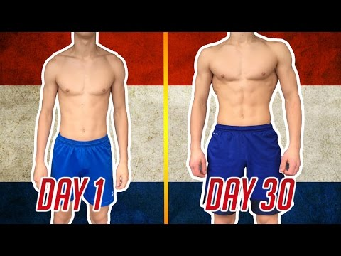 200 PUSH-UPS A DAY FOR 30 DAYS - RESULTS - 2017