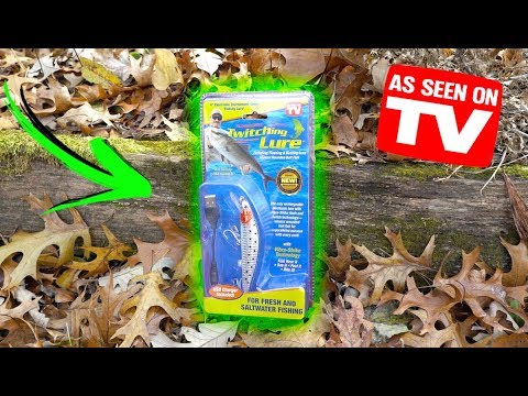 The Biggest SCAM In Fishing? (As Seen on TV Lure Review)