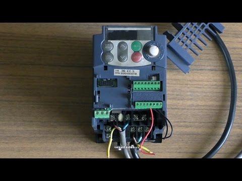 Частотник, частотный преобразователь1ф 220 - 3ф220 для асинхронного электродвигателя