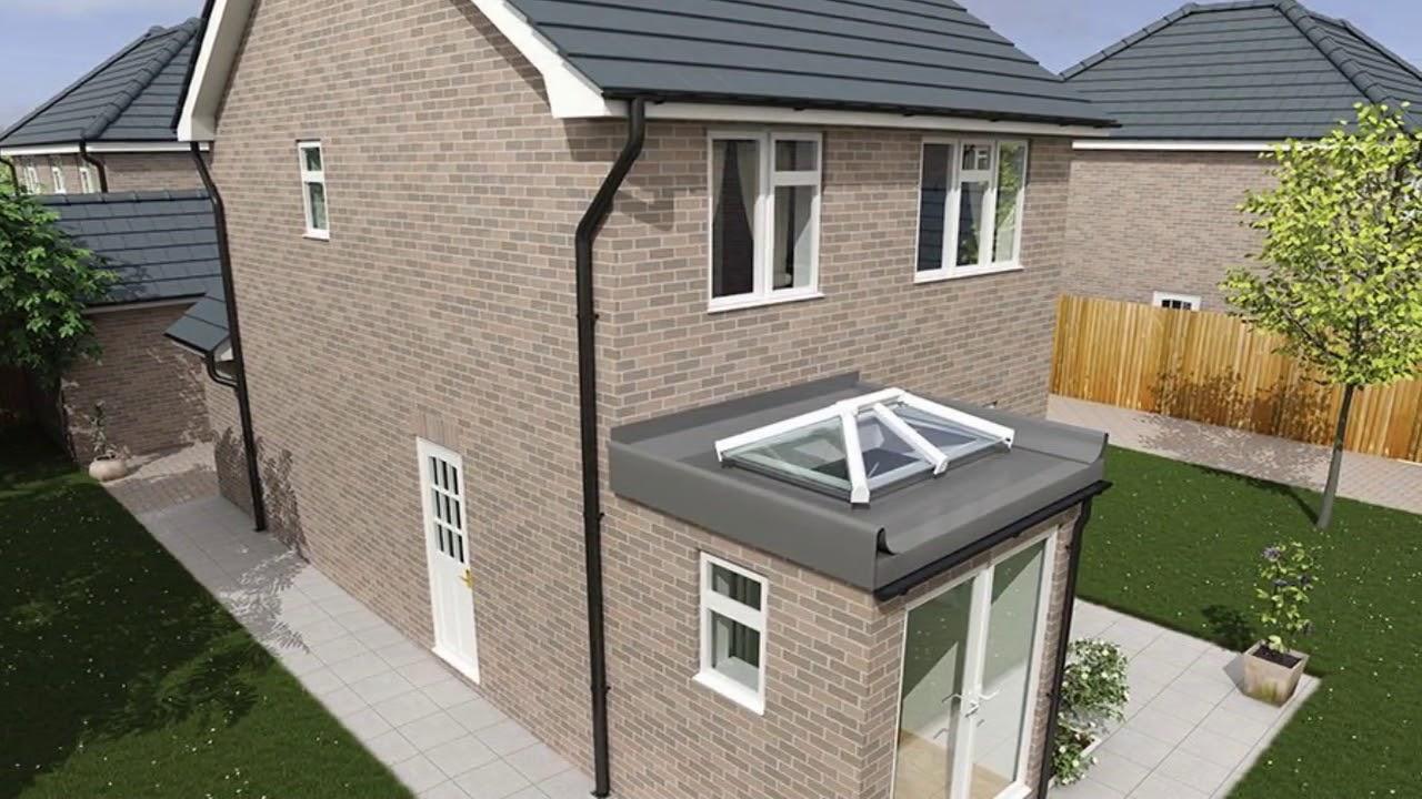 modern flat roof extension design uk youtube. Black Bedroom Furniture Sets. Home Design Ideas