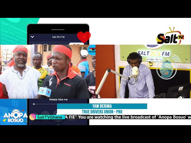 CONCERNED DRIVERS PRO ON ANOPA BOSUO WITH AKWASI BODUAH | 04/05/21