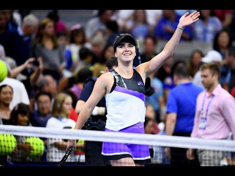 Elina Svitolina Vs Madison Keys Extended Highlights   US Open 2019 R4