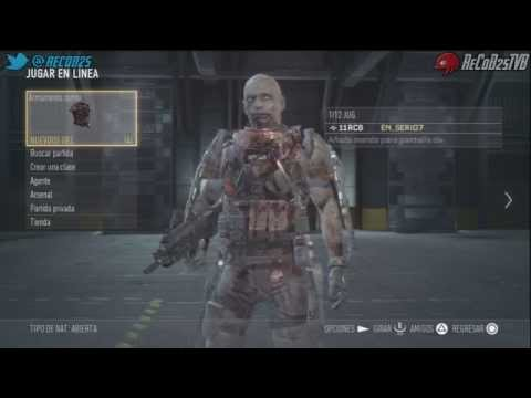 Tutorial Call Of Duty Advanced Warfare Como Conseguir Personaje Zombie en Exo Survival - By ReCoB
