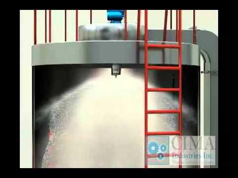 High Speed Centrifugal Spray Drier.mp4