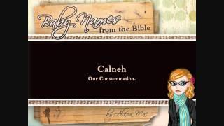 Easter / Resurrection Biblical Names